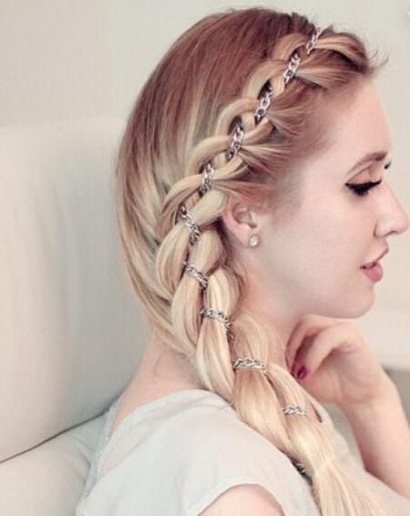 quick four strands braid braided hairstyles