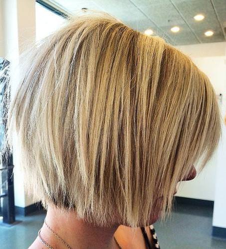 shaggy chin length bob blonde bobs for women