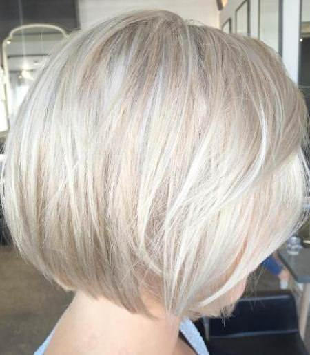 short bob with layers blonde bobs for women