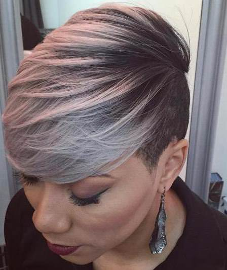 silver sideswept hairstyles weave hairstyles for black women
