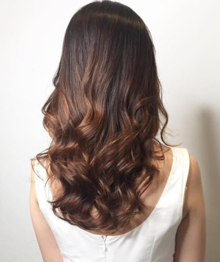 soft ombre perm hairstyles