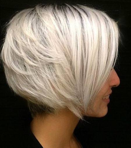 stacked white blonde bob blonde bobs for women