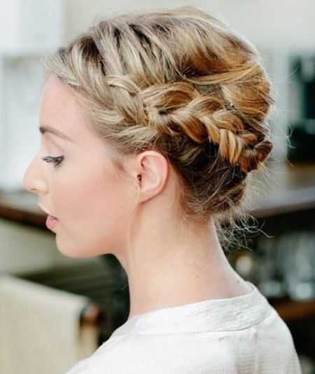the french persian twist updo french twist updos