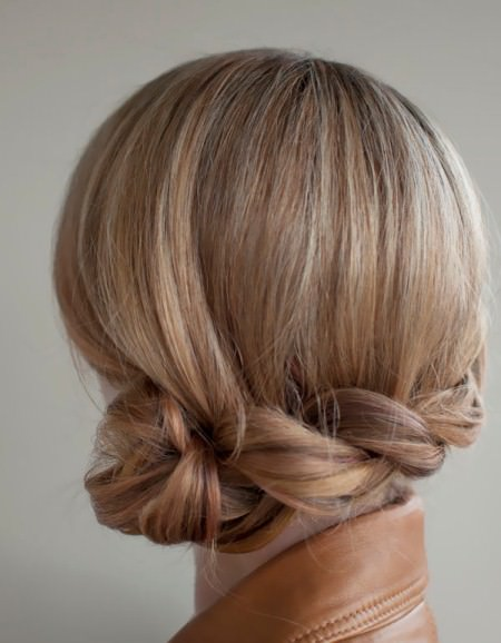 twisted side roll updo updos for long hair