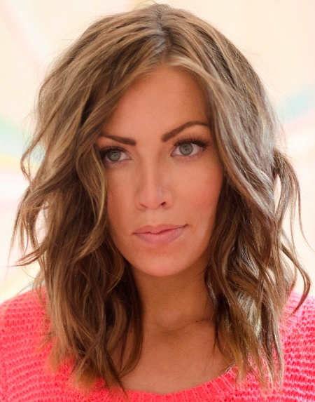 Bed head medium hairstyles for round face