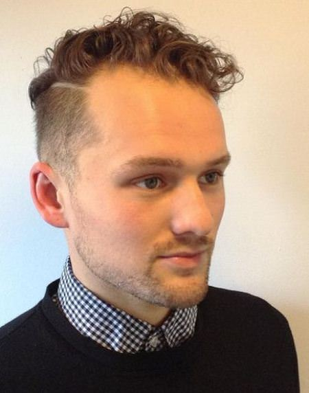 Business profesional curly hairstyles for men