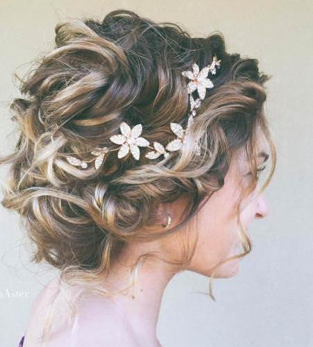 Curly updo for short hair iconic braid hairstyles
