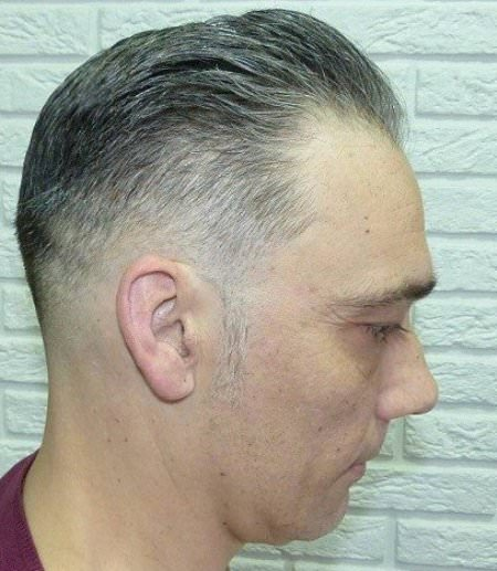 Natural color for thin hair hairstyles for men with thin hair