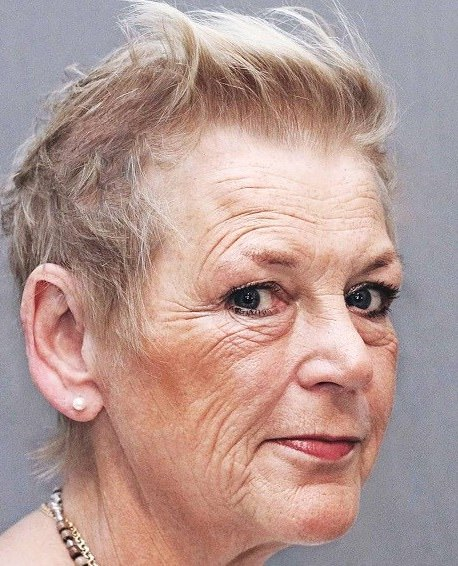 Short and sweet hairstyles and haircuts for women over 70