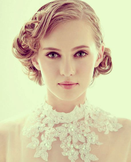 Short hairstyles for vintage curls iconic braid hairstyles