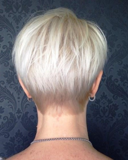 Short tapered pixie bob short blonde hairstyles and haircuts