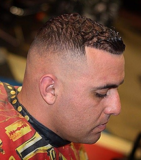 Simple hair receding hairstyles for men with thin hair