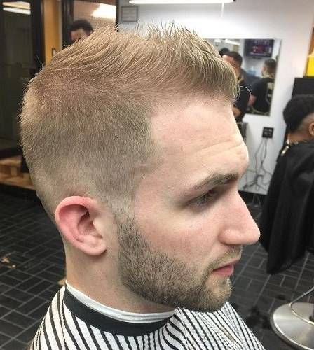 Thin hair spiked up hairstyles for men with thin hair