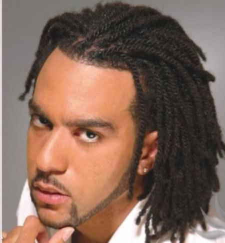 bob with braids for men