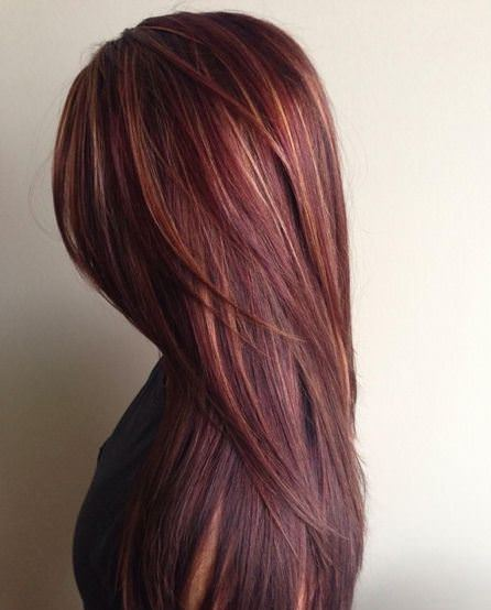 chocolate red hairstyle shades of red hair for women