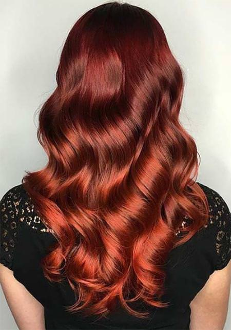 cooper shades of red shades of red hair for women