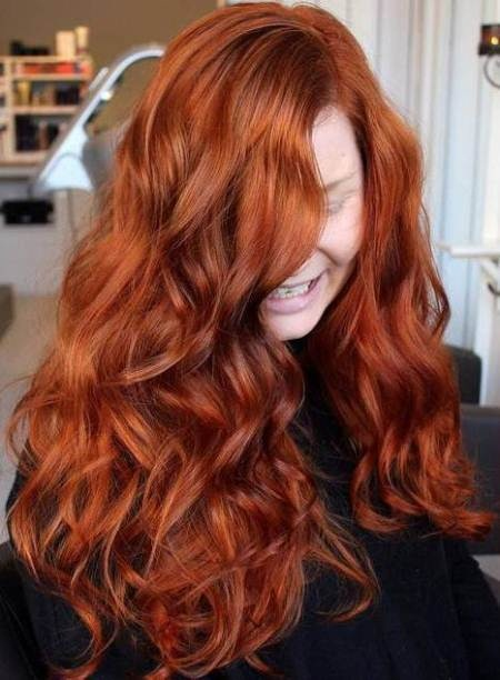 full and flirty shades of red hair for women
