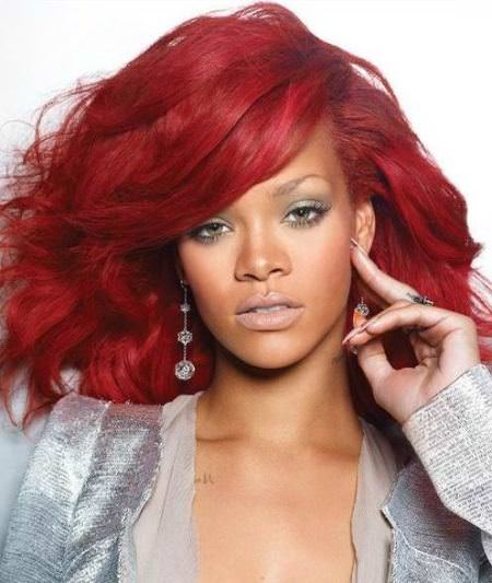 pomegranate shades of red hair for women