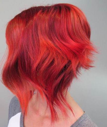 red riot shades of red hair for women