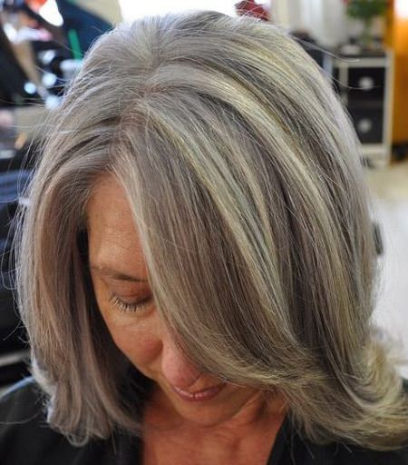 side bangs with high crowns hairstyles and haircuts for women over 70