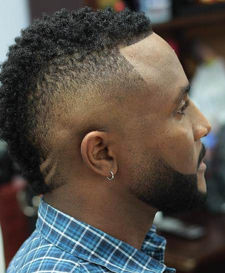sparten feathers mohawk hairstyles for black men