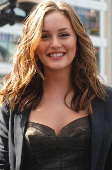 wavy hairstyles medium hairstyles for round face