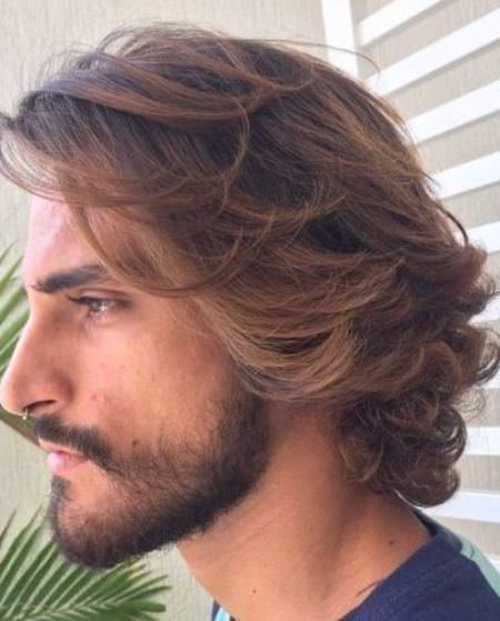 windswept hairstyles curly hairstyles for men